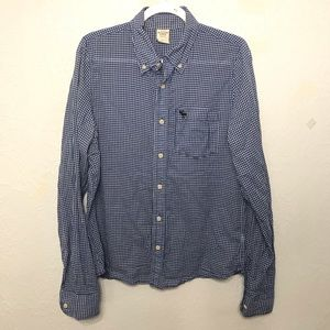 ABERCROMBIE & FITCH - Long Sleeve Gingham Size L